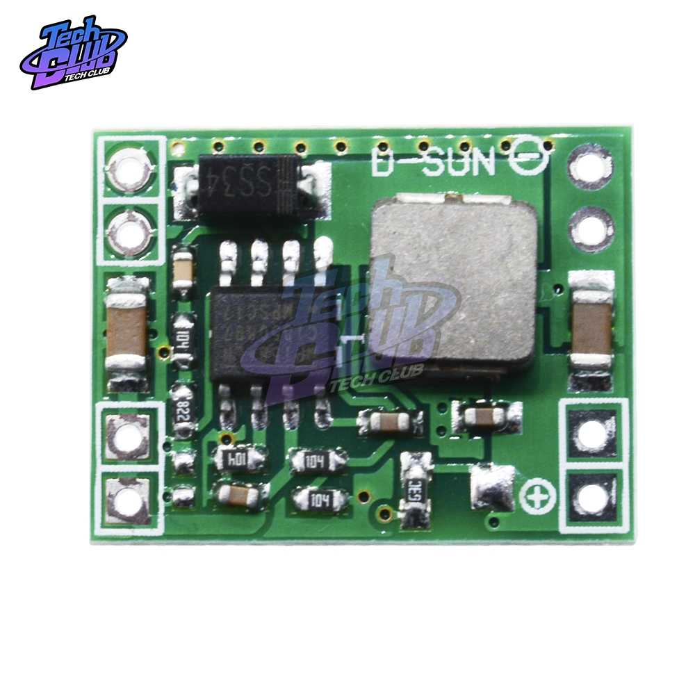 CC 7 V-28 V a 5V Ultra Mini fuente de alimentación módulo reductor DC-DC convertidor Buck entrada 7V 28 28V salida 5V Max 3A