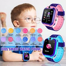 IP67 Waterproof Kids Smart Watch GPS + LBS Positioning SOS Camera Incoming Call Manage Children Smartwatch For Android IOS 2019 hot brand s866 kids waist smart watch with sos gps lbs wifi bluetooth smartwatch waterproof waist watch for android ios