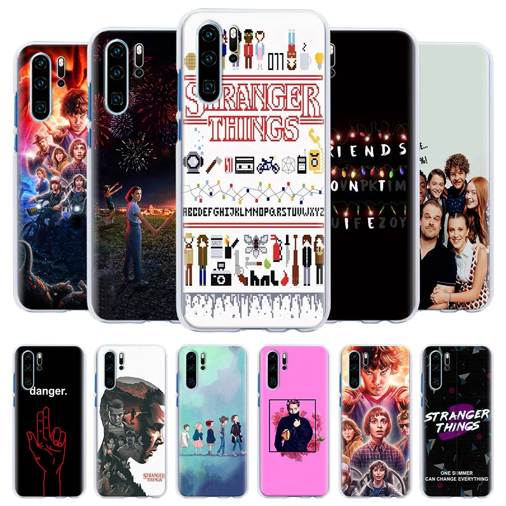 <font><b>Stranger</b></font> <font><b>Things</b></font> Stylishness and Elegance <font><b>Phone</b></font> <font><b>Case</b></font> for <font><b>Huawei</b></font> <font><b>P20</b></font> <font><b>Lite</b></font> <font><b>P20</b></font> P30 Pro P9 P10 <font><b>Lite</b></font> P Smart Plus 2019 Hard Cover Cap image