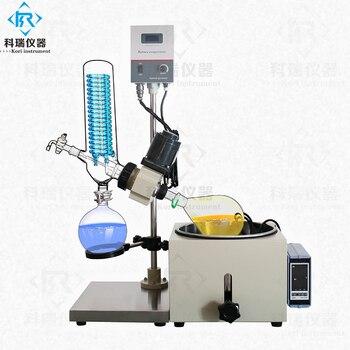 3l Vacuum Glass Rotary Evaporator flask Herbal extraction equipment