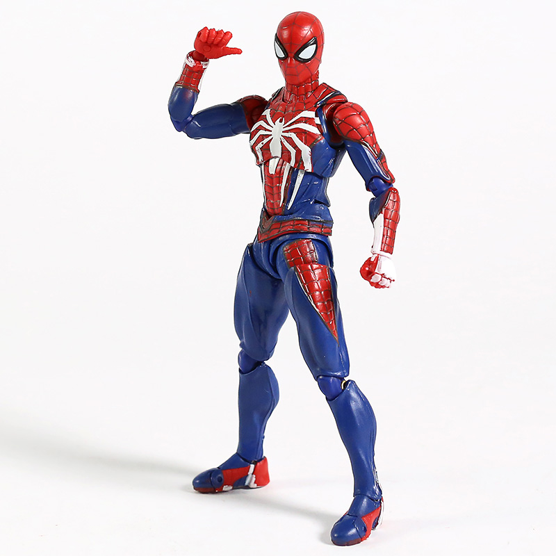 Image 5 - SHF Spiderman Homecoming PVC Spider Model Action Figure Infinity War Model Collection Toy For Boy GiftsAction & Toy Figures   -