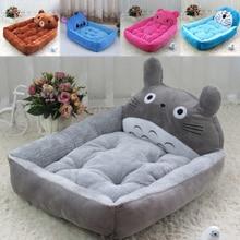 Cartoon Totoro Stich Haustier Hund Bett Mat Nette Tiere Förmigen Haustier Decke Sofa Abnehmbare Warme Atmungsaktive Zwinger Katze Haus Nest hause