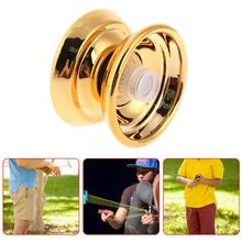 2018 NEW Kids Children Professional Toys Alloy Yo-Yo Ball Bearing String Aluminum Gift yoyo profissional new arrive yoyo empire big bang yoyo cnc yoyo for professional yo yo player professional advanced ball pom material