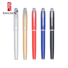 Shichen 458 high quality metal pen luxury business signature pen ballpoint pen school student gift pen office stationery pen free shipping hot selling sonnet luxury business ballpoint pen good quality metal signature pen buy 2 pens send gift