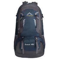 60L Wasserdichte Outdoor Rucksack Sport Tasche für Wandern Reisen Bergsteigen Klettern Trekking Camping-in Klettern Taschen aus Sport und Unterhaltung bei