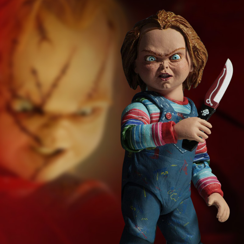 15-25cm NECA Toys Child's Play Horror Ultimate GOOD GUYS Chucky Bride Of Chucky PVC Action Figure Collectible Model Doll Toy