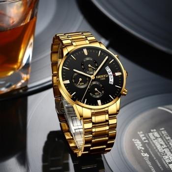 NIBOSI Luxury Ladies Wristwatch