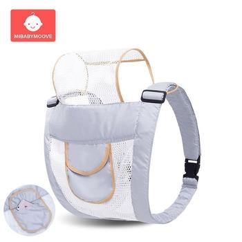 Ergonomic Breathable Baby Carrier Infant Baby Hipseat Waist Carrier Front Facing Ergonomic Kangaroo Sling for Baby Travel 3-30M