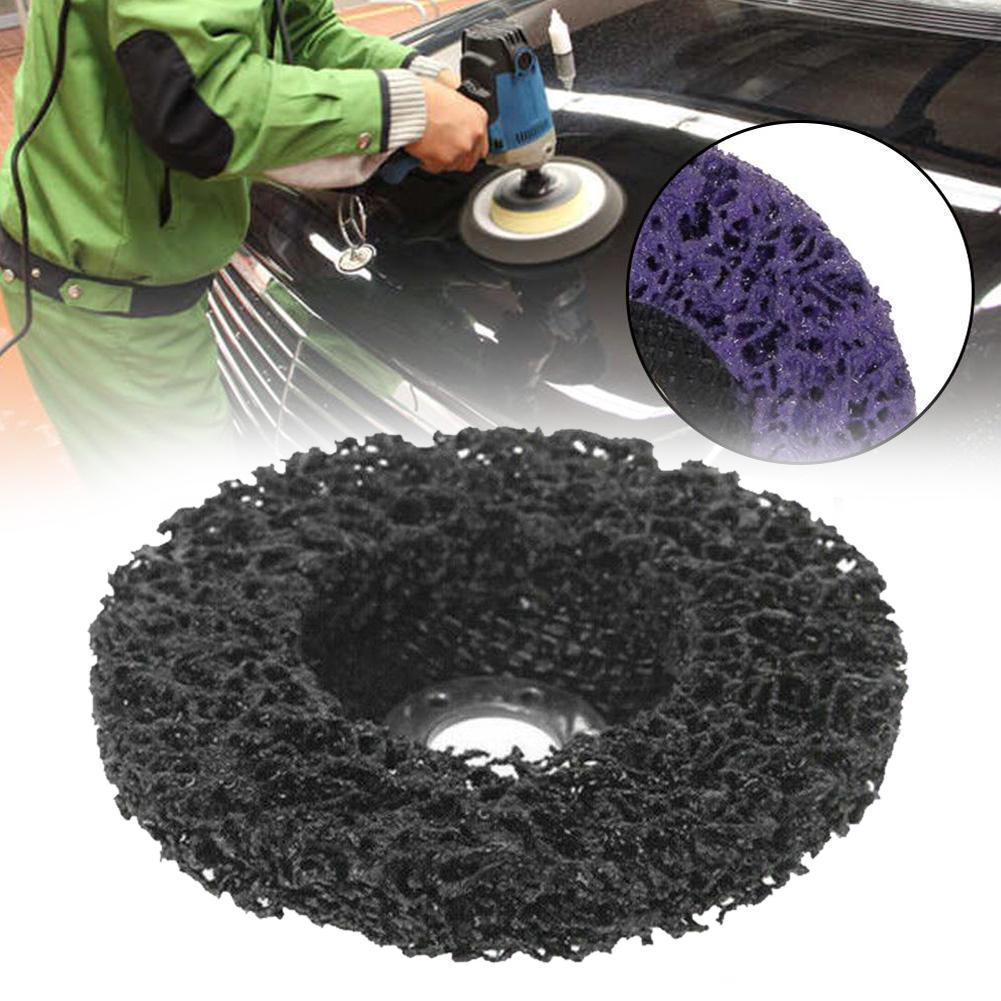 100mm / 125mm Poly Strip Disc Abrasive Wheel Paint Rust Remover Clean Grinding Wheels For Angle Grinder