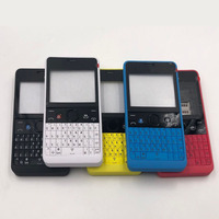 For Nokia 210 Original New Full Complete Mobile Phone Housing Cover Case+English or Russian or Arabic Keypad+Logo