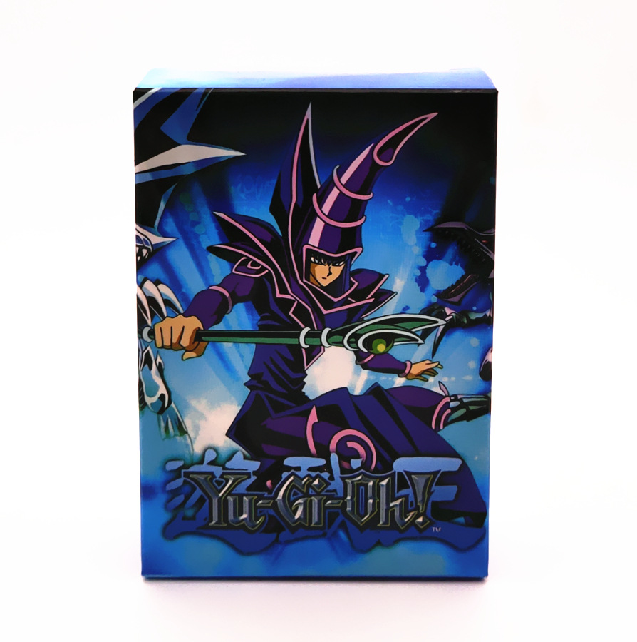 NEW Yugioh 66pcs Set With Box Card Game Battle Card Full Flash Magic Trap Card 66 Sheets Toys For Boy