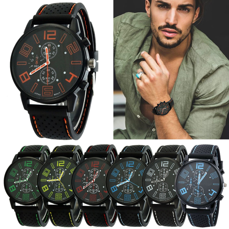Men Watches Relogio Masculino Casual Fashion Sport Racing-Car Outdoor Hot-Sale