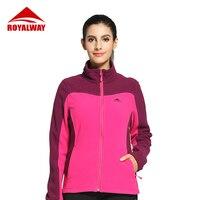 ROYALWAY женская уличная спортивная походная флисовая куртка осень-зима походная мягкая куртка RFLL3455F