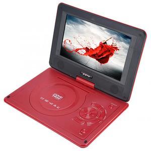 Image 5 - 9.8 Inch Draagbare High Definition Swivel Screen Auto Dvd speler Vcd Cd Avi Eu Plug