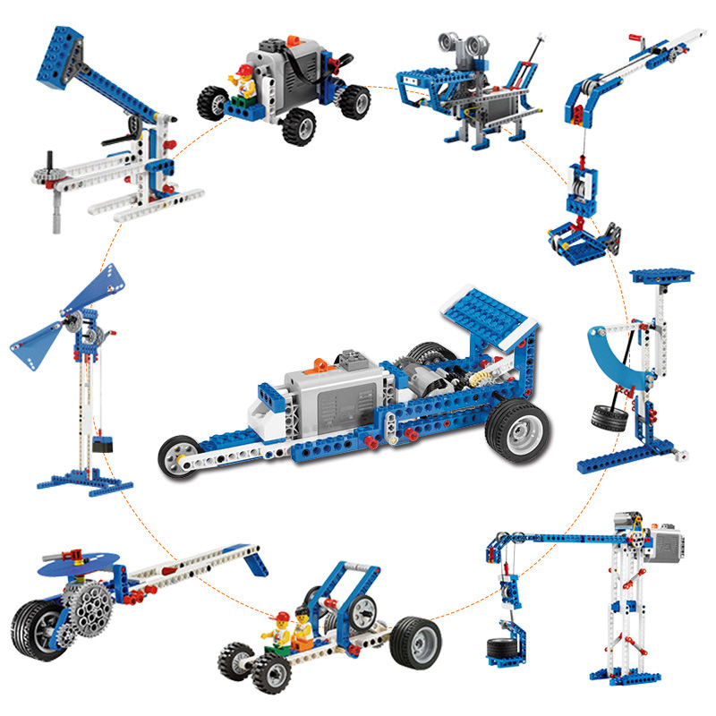 Diy Kit Buliding Blocks Arduino Technic Bricks Science Educational STEM Toys Gift For Children