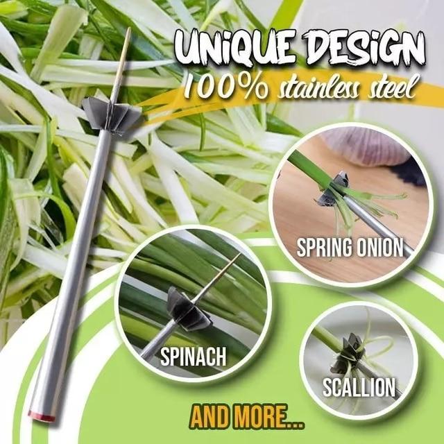 Stainless Steel Plum Blossom Onion Cutter  6