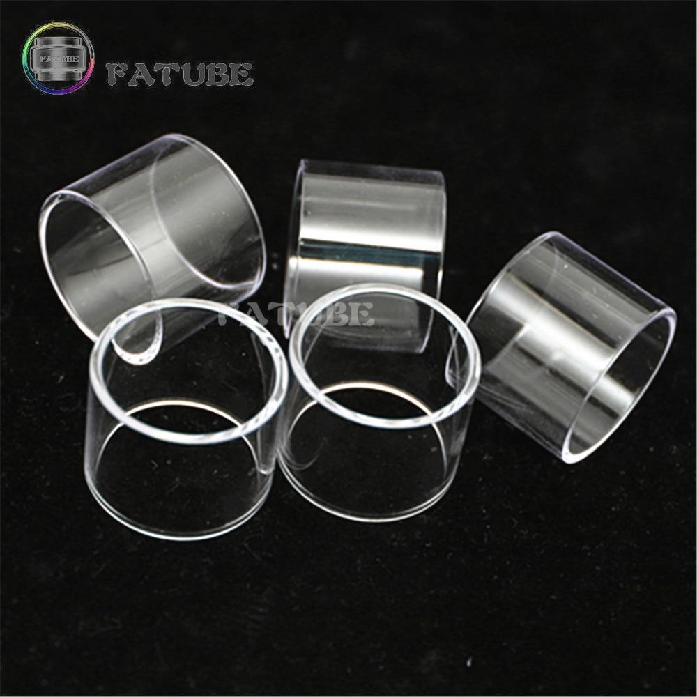 5PCS FATUBE Glass tube for GEEKVAPE Aegis legend with Cerberus Aero mesh Alpha zeus Sub Ohm Tank glass smoking 5