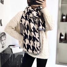 2019 winter warm fashion scarf high qulity imitation cashmere large size womens pashmina scarves long shawls