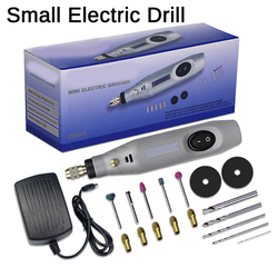 DIY Wireless Electric Grinder Set Grinding Machine Rotary Tools Kit Mini Drill Engraver Pen for Milling Polishing Wood Carving