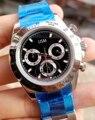 Desenhador Mens Mecânico de Aço Inoxidável relógio de cerâmica Marca De Luxo 2813 Dos Homens Automáticos do Relógio Relógios Desportivos Auto-vento relógios de Pulso aaa