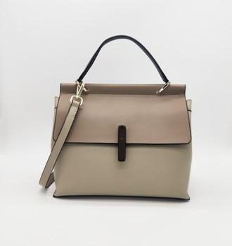 INS girl sling bags Vintage  Genuine Leather Luxury Handbags Women Messenger Bags Designer Shoulder Bag Female Tote Bolsos Mujer