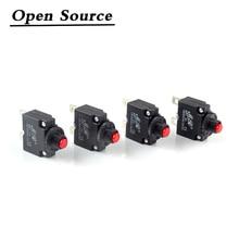 5Pcs Circuit Breaker Overload Protector Switch Fuse 2A 3A 5A 6A 7A 8A 10A 15A 20A