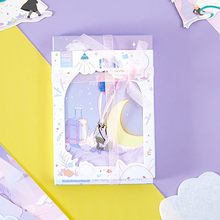 143mmx93mm dream rabbit paper postcard(1pack=30pieces)