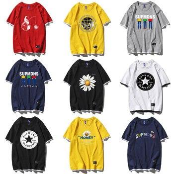 Camisetas masculinas falso 2 em 1 cesta nba impressão cobe t-shirts harajuku moda casual algodão plus size camisetas 4xl 5xl