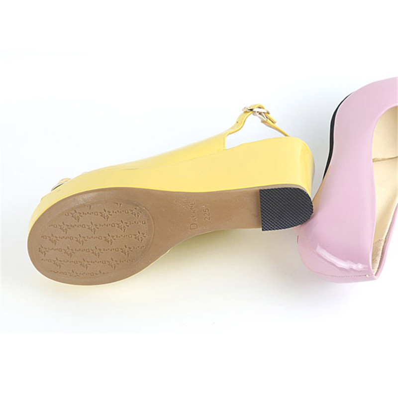 1 Pair Self-adhesive Shoes Sole Pads For Lady High Heel Shoes Boot Sandal Anti-Slip Shoe Care Soles Heel Protector Grip Inserts