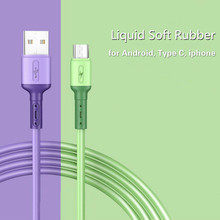 HICUTE Liquid charge Cable For Samsung Android Fast Charging