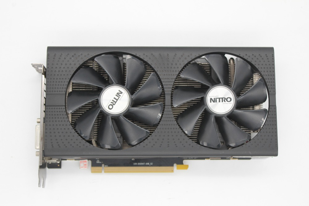 Used, Sapphire <font><b>RX470</b></font> 4G Overseas Desktop Display High-end Game Graphics Card( 2048 stream processor) image