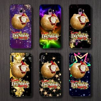 Модный чехол со сломанной звездой в стиле Санта Клауса для телефона Samsung S6 S7 edge S8 S9 S10 e plus A10 A50 A70 note8 J7 2017