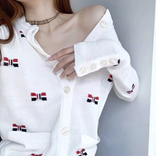 Autumn Knitted Sweater 2019 Fall New Color Butterfly Knotted Body Knitting Small