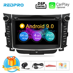 """Image 1 - 7"""" IPS Screen Android 9.0 Car DVD Radio Player For Hyundai i30 Elantra GT 2012 2016 2 Din Video GPS Navigation Stereo Multimedia"""