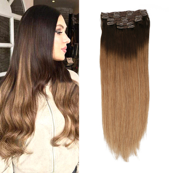 Toysww 100G 120G Brazilian Machine Made Remy Straight Clip In Human Hair Extensions Full Head Set 6Pcs 14 to 24 inch sindra indian straight remy hair clip in human hair extensions blonde color 60 full sets 6pcs set 100g 120g