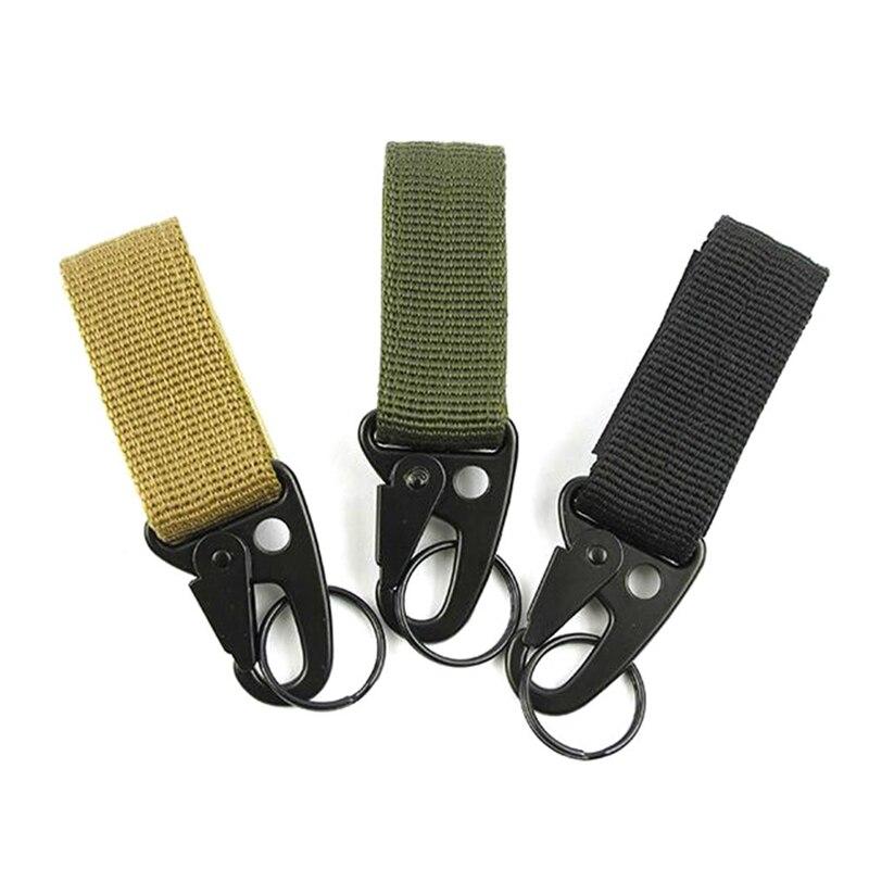 Outdoor Tools Tactics Webbing Backpack Buckle D Buckle Multi-functional Mountaineering Buckle Snap Hook Lock