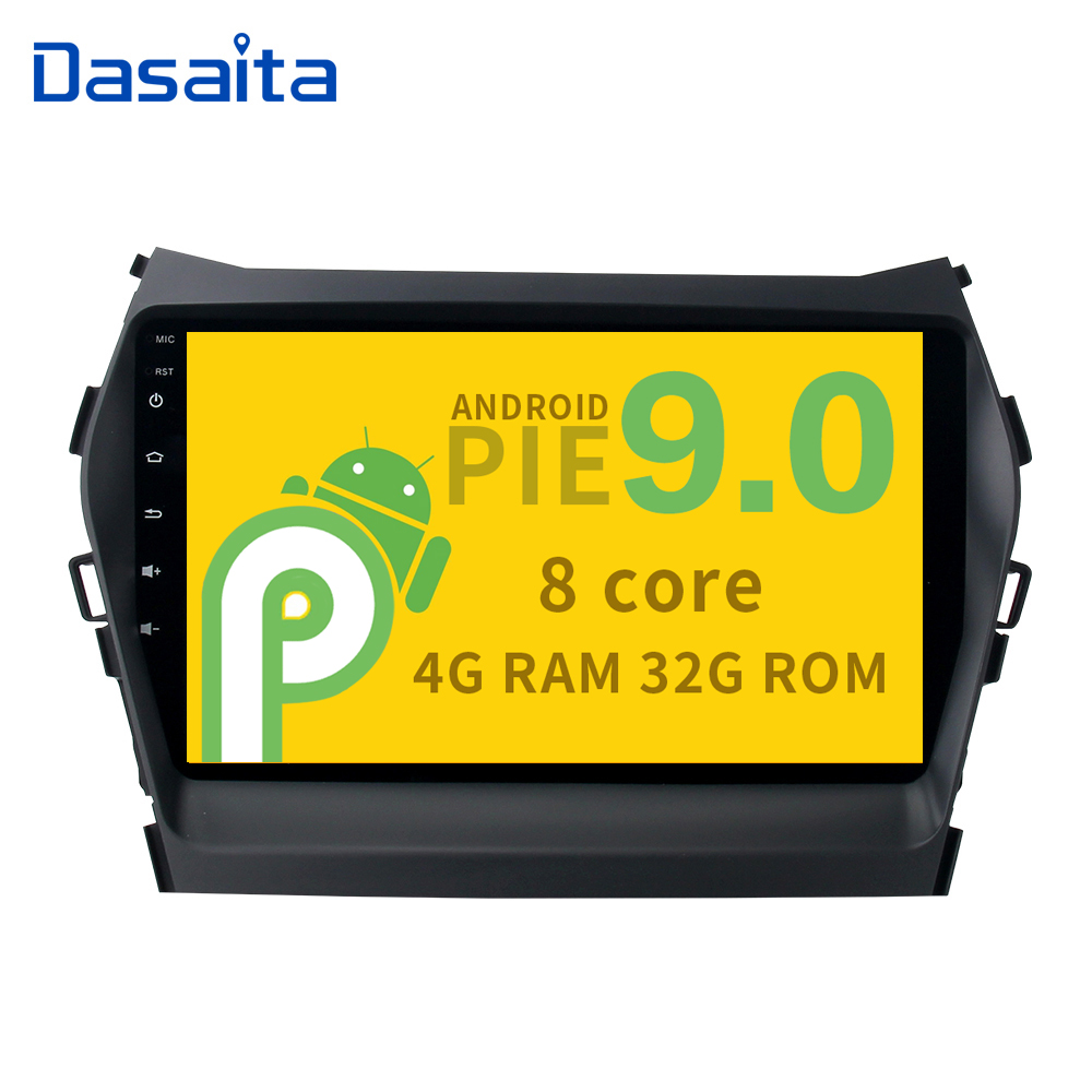 9 auto stereo multimedia Android 9 0 Car GPS Radio Player for Hyundai Santa fe IX45