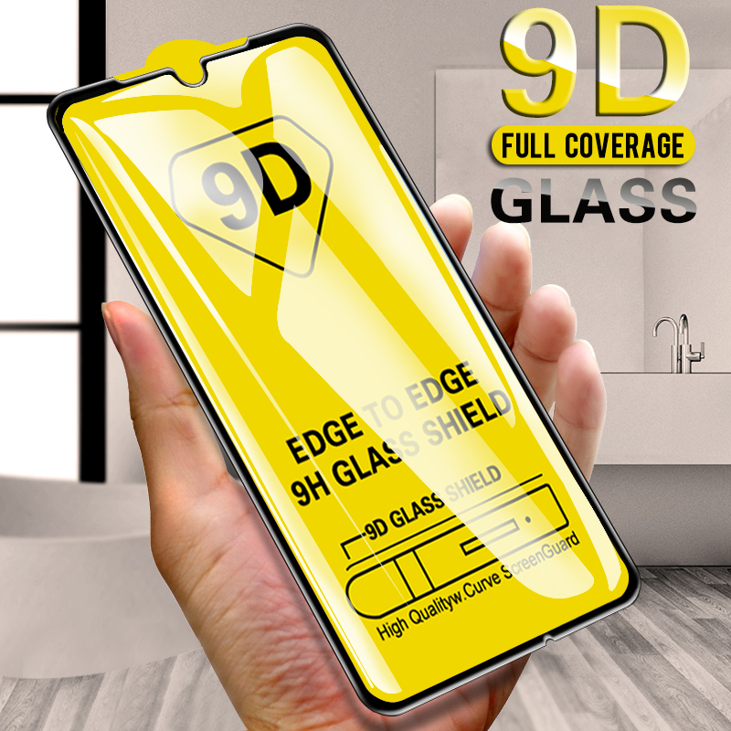 9d Tempered Glass For Huawei Y5 Lite 2018 Y6 Y7 Y9 Prime 2019 Screen Protector On Huwei Y 5 6 7 9 Prime Armored Tempered Glas