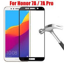 2 pçs 9d vidro temperado para honra 7a DUA-L22 protetor de tela do telefone em honra 7a pro AUM-AL29 5.7