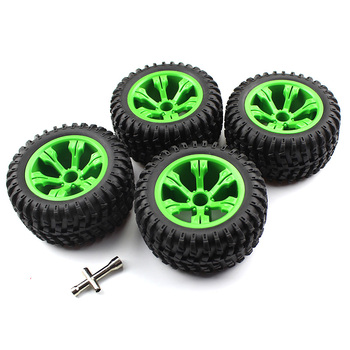 Wltoys 12428 parts Wltoys 12428 4Pcs Rubber Hub Wheel Rim Widened Tire Tyre Upgrade Parts for WLtoys-s RC Car Accessory 12428
