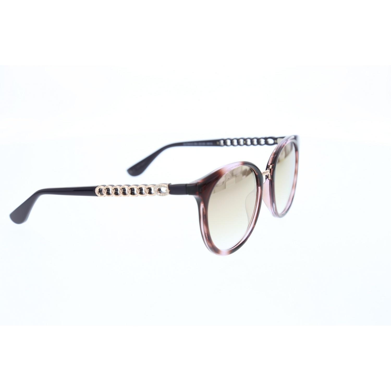 Women's sunglasses gu 7544 83u bone color organic oval aval 52-20-140 guess