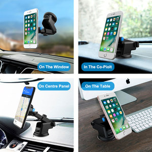 Image 5 - Windshield Gravity Sucker Car Phone Holder For iPhone 7 8 X XS MAX Holder For Phone In Car Mobile Support Smartphone  Stand