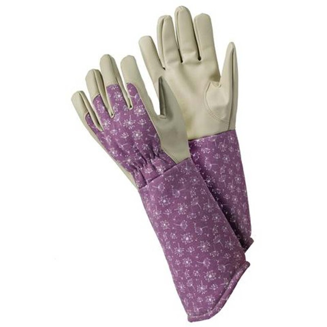 6x Pairs Ladies Cotton GARDENING GLOVES Multipurpose Housework COW Design