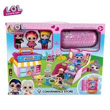 ЛОЛ Сюрприз куклы игрушки комплект DIY играть дома Игры для детей капсулы Лол куклы ПВХ фигурки, модели, подарки для девочек