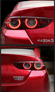 Image 4 - Sedan car use 2020~2021y tail light for Mazda 3 Mazda3 Axela taillight LED car accessories Taillamp for mazda3 rear light fog