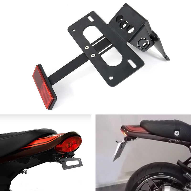 Kawasaki Z900RS 2018-2020 motosiklet arka kuyruk düzenli çamurluk Eliminator kiti plaka tutucu braketi Z900RS 2018 2019 2020