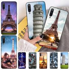 MayDaysmt Tower of Pisa Black TPU Soft Phone Case Cover For Xiaomi mi 6 6plus a2 8 8se a2lite 8lite 9 9se mix2 italian flag style graffiti leaning tower of pisa pattern case for samsung s6812 s6810 green