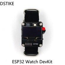 DSTIKE ESP32 montre DevKit ESP carte de développement Version OLED/Version couleur TFT I2 006 007