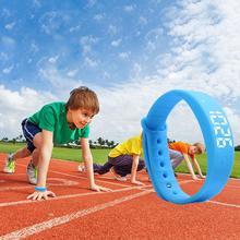 HobbyLane Multifunctional W5S Smart Bracelet LED Watch Sleeping Pedometer Vibration Sports Smartbracelet Wristband for Kids Gift