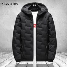 Men Winter Parkas Coat 2020 Zipper Pocket Thick Jackets Male Fashion Casual Solid streetwear Oversize jacket tops Thick Warm 4XL